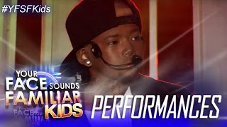 Your Face Sounds Familiar Kids: Justin Alva as Chris Brown - With You
