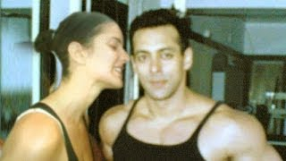 Katrina Kaif Kissing Salman Khan In Gym