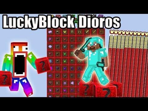 Không Nên Đập LuckyBlock Dioros Vì Nó Quá Vip Noob Đập 101 LuckyBlock Dioros