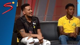 AKA and Bongani Zungu on Thursday Night Live