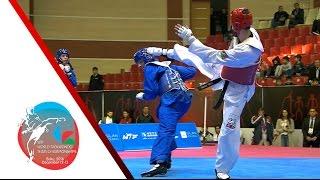 [SEMI FINAL] MALE Team | TURKEY vs. AZERBAIJAN / 2016 WTF World Taekwondo Team Championships