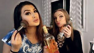 DRUNK GET READY WITH ME FT. MY BESTFRIEND | Trisha Paytas, Drinking & Make up talk