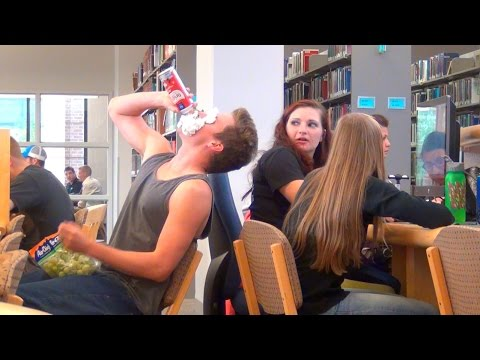 Loud Eating in the Library
