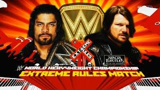 WWE Extreme Rules Promo 2016 - Roman Reigns vs AJ Styles