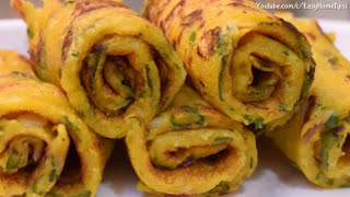 आटे का इतना टेस्टी और आसान नाश्ता वो भी बिना तले की आप रोज बनाकर खाएंगे Breakfast Recipes Indian