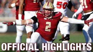 Zach Allen Official Highlights   Boston College DE