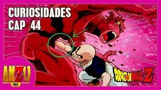 DRAGON BALL Z CAPITULO 44 | CURIOSIDADES Y ERRORES PARTE 44 | ESCAPE DEL RELLENO | REVIEW | ANZU361