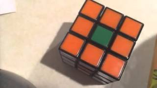 How to: flower pattern Rubik's cube