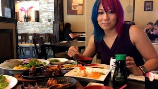 Asuka eats squid and other Japanese cuisine: WrestleMania Diary