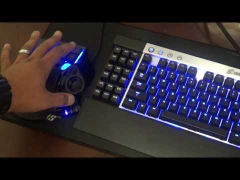 ttesports thermaltake chroma keyboard how to change color