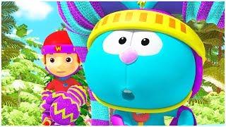 الدنيا روزي | حلقات كاملة | هدايا لين | المصور كرز | قناة براعم | رسوم متحركة للاطفال