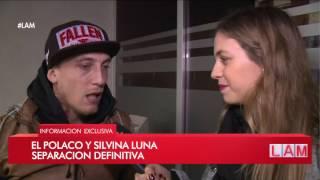 ¿Se terminó el tema Silvina Luna? El Polaco reconoció los mensajes románticos a Valeria Aquino
