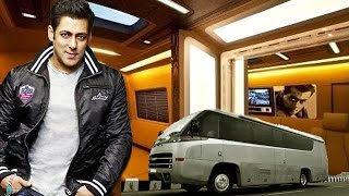 Salman Khan's LAVISH VANITY VAN -  Palace On Wheels