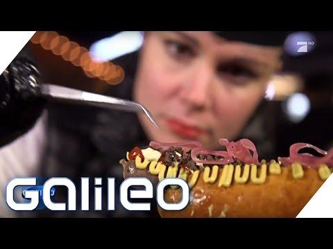 Xxx Mp4 Jumbo Testet Der Teuerste Hotdog Der Welt Galileo ProSieben 3gp Sex