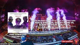 Oliver Heldens - Space Sheep vs. Say My Name vs. Scars To Your Beautiful (Oliver Heldens Mashup)