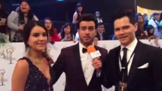 ALFOMBRA ROJA DE PREMIOS TVYNOVELAS 2017