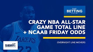 Crazy NBA All-Star Game Odds + Friday NCAAB Odds Report | That Betting Show, Feb 15th