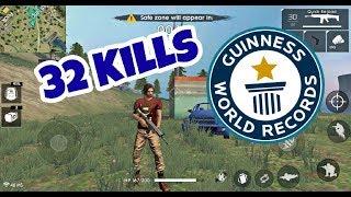 Free fire  WORLD RECORD!!! 32 KILLS