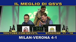 QSVS - I GOL DI MILAN - VERONA 4-1  - TELELOMBARDIA / TOP CALCIO 24