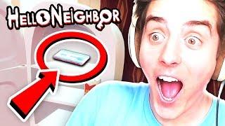 I FOUND THE KEYCARD!! | Hello Neighbor Alpha 4
