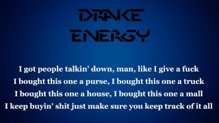 Drake Energy (LYRICS) videos