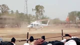 Maharashtra Cm Devendra fadanvis Helicopter Accident Live Nilanga