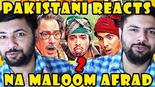 Pakistani Reacts to Na Maloom Afrad 2 | Fahad Mustafa | Javed Sheikh