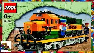 LEGO instructions - City - Trains - 10133 - Burlington Northern Santa Fe (BNSF) Locomotive