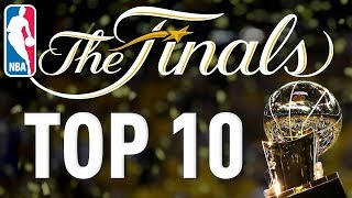 TOP 10 PLAYS from the 2017 NBA FINALS