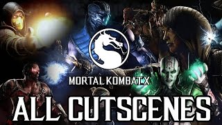 Mortal Kombat X - (2016) FULL MOVIE All Game Cutscenes @ 1080p HD ✔