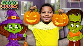 HALLOWEEN SONGS FOR KIDS & MORE! (Learn Halloween Character Names)