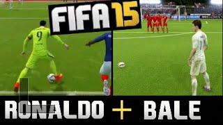 The F2 vs FIFA15 ! Epic Battle: Ronaldo+Bale vs Billy+Jeremy !!!