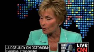 """Judge Judy On Octo Mom: """"No Different From AIG...and She's Using Tax Payer Money"""""""