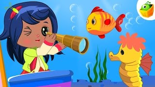 A Sailor Went to Sea | English Nursery Rhymes | Magicbox Animations