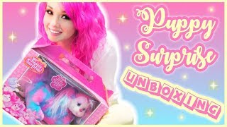 Puppy Surprise Unboxing! (Eliza)