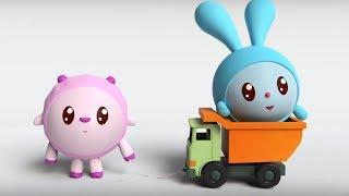Малышарики - Обучающий мультик для малышей - Все серии подряд -  про Крошика, Ежика и Барашика ☀⚽🚗