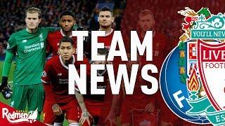 Porto v Liverpool | #LFC Team News LIVE