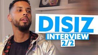 Interview Disiz 2/2 : Son feat avec Damso, les succès de PNL et Niska, ses expériences au ciné...