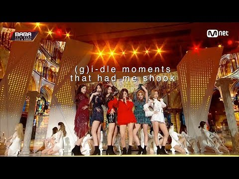 g i dle moments that had me shook