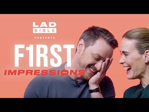 Xxx Mp4 James McAvoy Vs Sarah Paulson Play First Impressions 3gp Sex