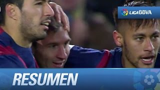 Resumen de FC Barcelona (3-2) Villarreal CF