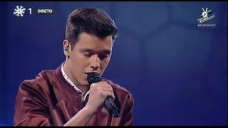 Fausto Vasconcellos - A Thousand Years (Christina Perri) | Gala | The Voice Portugal
