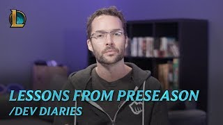 /Dev Diary: Lessons from Preseason - League of Legends
