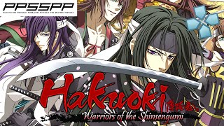 Hakuoki Warriors of the Shinsengumi - PSP Gameplay (PPSSPP) 1080p