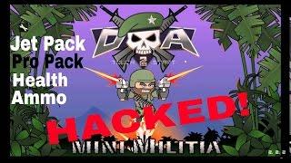 Mini Militia Best HACK of all time(100% Working)