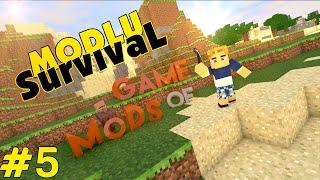Minecraft Game Of Mods - Villaya Devam - Bölüm 5
