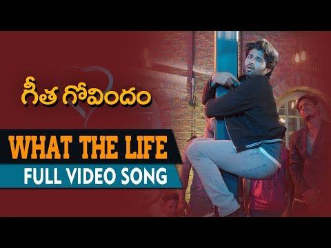 Xxx Mp4 What The Life Full Video Song Geetha Govindam Vijay Deverakonda Rashmika Mandanna Gopi Sunder 3gp Sex