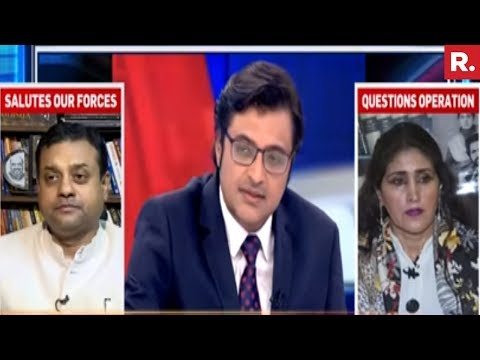 Xxx Mp4 Shabnam Lone Vs Sambit Patra India Crushes Lashkar The Debate 3gp Sex