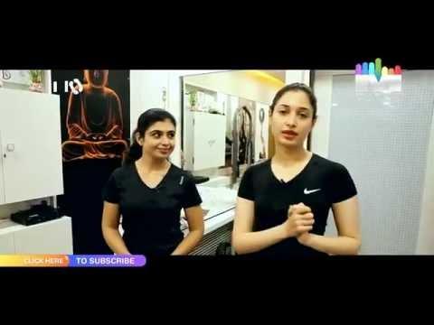 Tamanna Bhatia Hot Gym Video