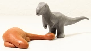 Sleeping Tank | Minisaurs | Dinosaur Animation Short